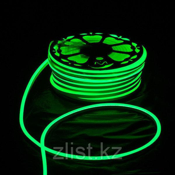 12V Flex LED Neon зеленый
