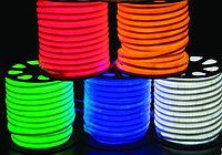 12V Flex LED Neon зеленый, фото 9