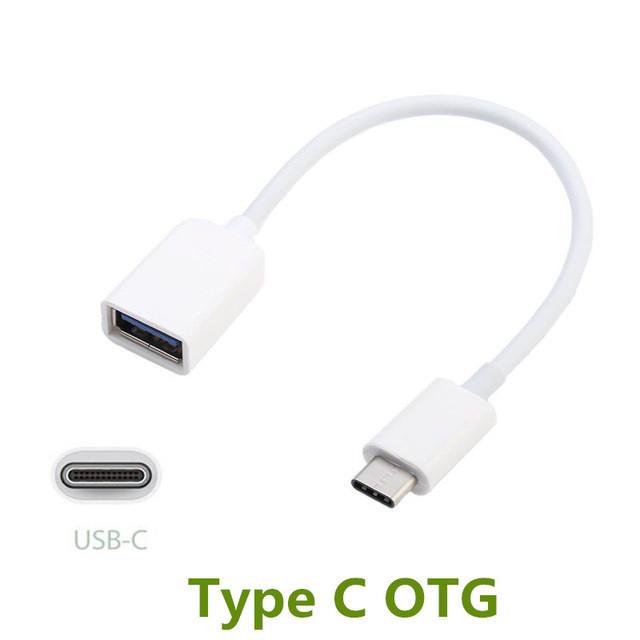 OTG кабель USB Type C (15 см)