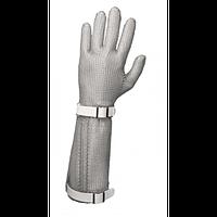 Перчатка кольчужная пятипалая с отворотом 8см.