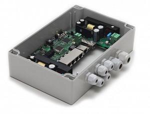 Коммутатор TFortis PSW-1G4F управляемый