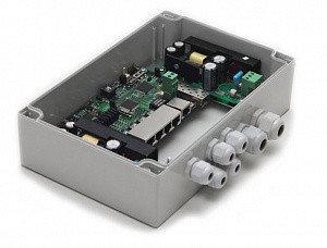 Коммутатор TFortis PSW-1G4F управляемый, фото 2