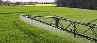 Услуги по химической обработке посевов
