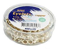 Люверсы KW-TRIO, 250 шт/упак