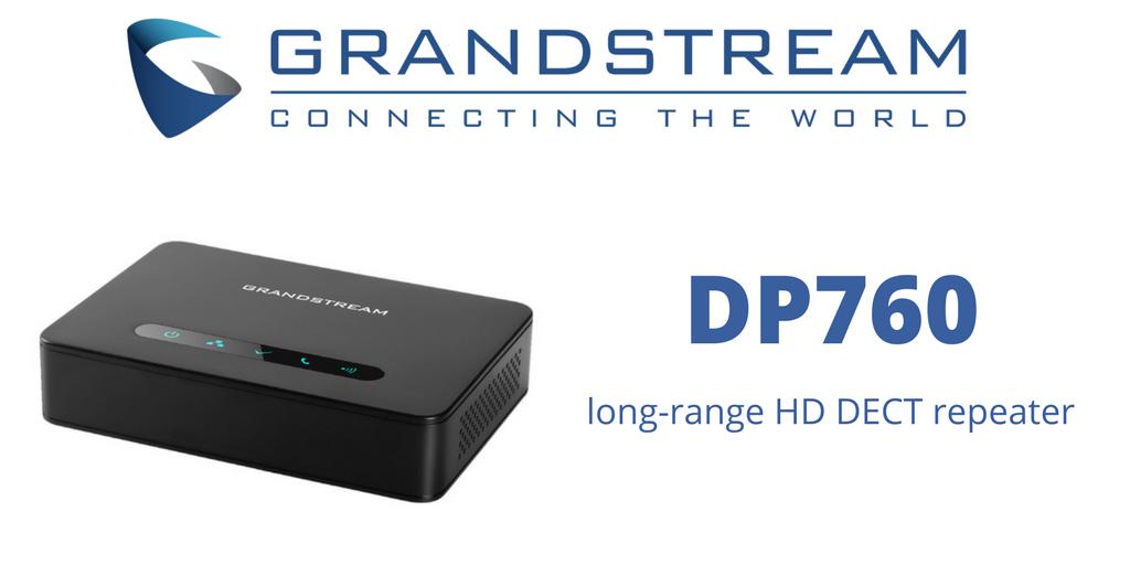 Grandstream DP760 - IP DECT Ретранслятор / репитер