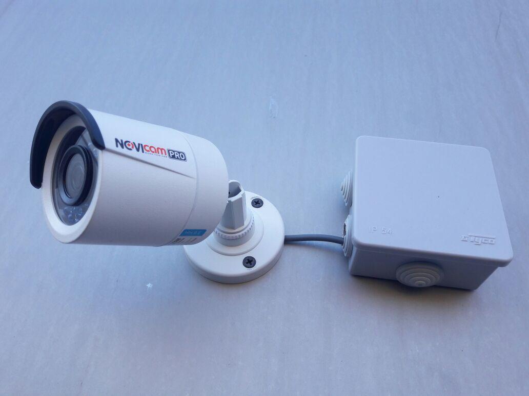 Установка уличных камер