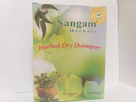 Сухой травяной шампунь, 100 гр ,Сангам