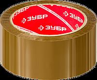 Клейкая лента, 48 мм x 60 м, коричневая, серия «МАСТЕР», ЗУБР