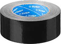 Лента клеящая универсальная, 48 мм x 45 м, черная, на тканевой основе, серия «ПРОФЕССИОНАЛ», ЗУБР