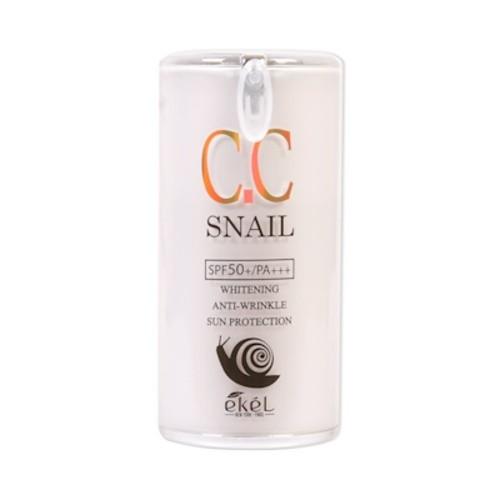 CC крем EKEL Snail CC Cream (SPF50+ PA+++) 50g