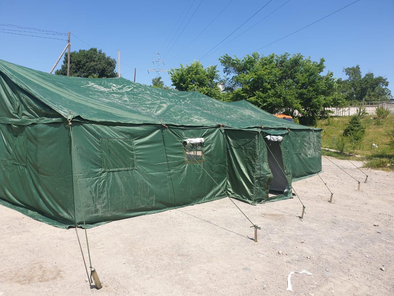 Палатка 40 без каркаса