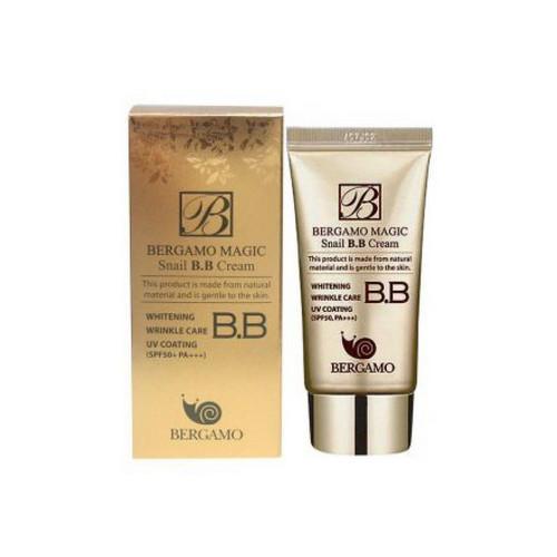 BB-крем с муцином улитки Bergamo Magic Snail BB Cream SPF50+/PA+++ (50 мл)