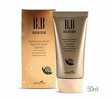 BB крем Aenepure/Snail BB Cream SPF50+/ PA +++