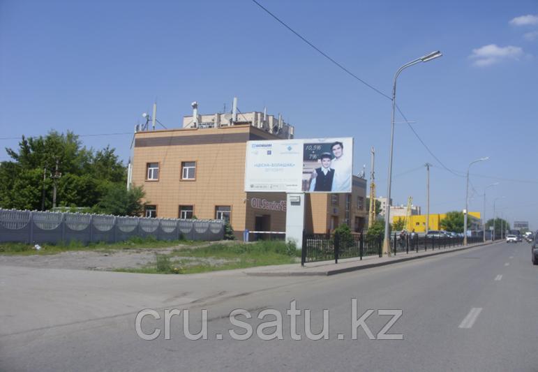 Проспект Бухар-Жырау—Тургенева (район центрального рынка)
