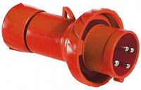 Кабельная вилка винт.16А 2Р+Е IP44 380В /PKE16M434/