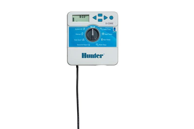 Контроллер на 4 зоны полива с возможностью расширения до 15 зон PC-401 - E Hunter
