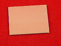 Печатная плата двухсторонняя 4см х 6см (Стеклотекстолит СТФ2-35-1,5)