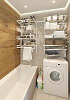 Системы (полки) хранения для ванной, прачечной (35-65 тыс пог/м)