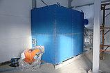 Газовый теплогенератор ТГВ-600 на раме, фото 4