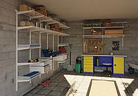 Системы хранения для гаража, подсобки (35-65 тыс тг пог/м)
