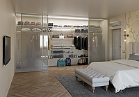 Системы (полки) хранения для спальни (35-60 тыс тг пог/м)