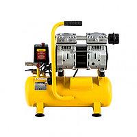 Компрессор DLS650/10 безмаслянный малошумный 650 Вт, 120 л/мин,ресивер 10 л Denzel 58021