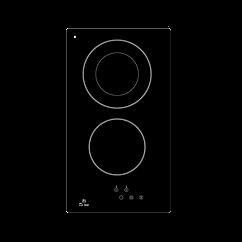 Electronicsdeluxe 3002.10 ЭВИ Black варочная поверхность встраиваемая