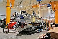 Дизельный парогенератор ПГ-2000 на раме, фото 1