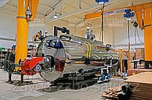 Дизельный парогенератор ПГ-2000 на раме
