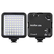 LED-64 Godox Накамерный прожектор, фото 3
