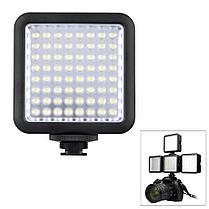 LED-64 Godox Накамерный прожектор, фото 2