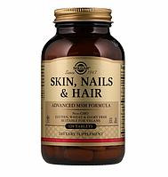 Solgar, Кожа, ногти и волосы, улучшенная рецептура с МСМ