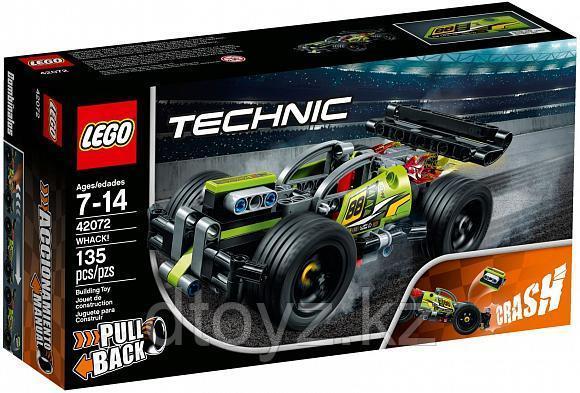 Lego Technic 42072 Зеленый гоночный автомобиль, Лего Техник