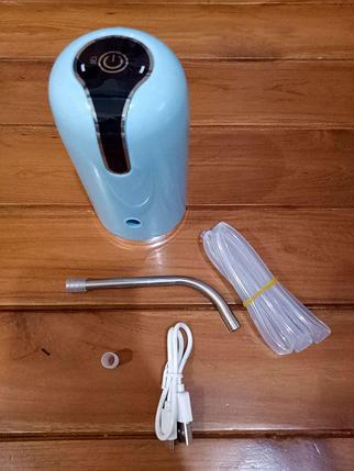 Помпа автоматическая для бутилированной воды Charging pompC60, фото 2