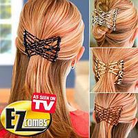 Набор чудо-заколок EZ Combs для волос [2 шт.]