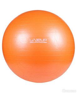 Мяч гимнастический для фитнеса GymBall LIVE UP [55, 65, 75 см, антивзрыв] с насосом (65 см)
