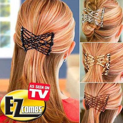 Набор чудо-заколок EZ Combs для волос [2 шт.], фото 2