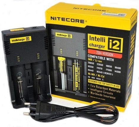 Зарядное устройство интеллектуальное Nitecore Intellicharger (i2), фото 2