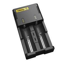 Зарядное устройство интеллектуальное Nitecore Intellicharger (i2), фото 3