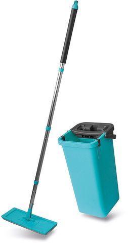 Комплект для уборки Magic Flat Mop & Bucket: швабра, ведро с отжимом
