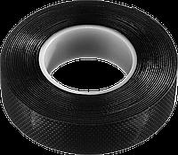 """Изолента """"ВУЛКАН"""" самовулканизирующаяся, 19 мм х 5 м, черная, серия «ПРОФЕССИОНАЛ», ЗУБР"""
