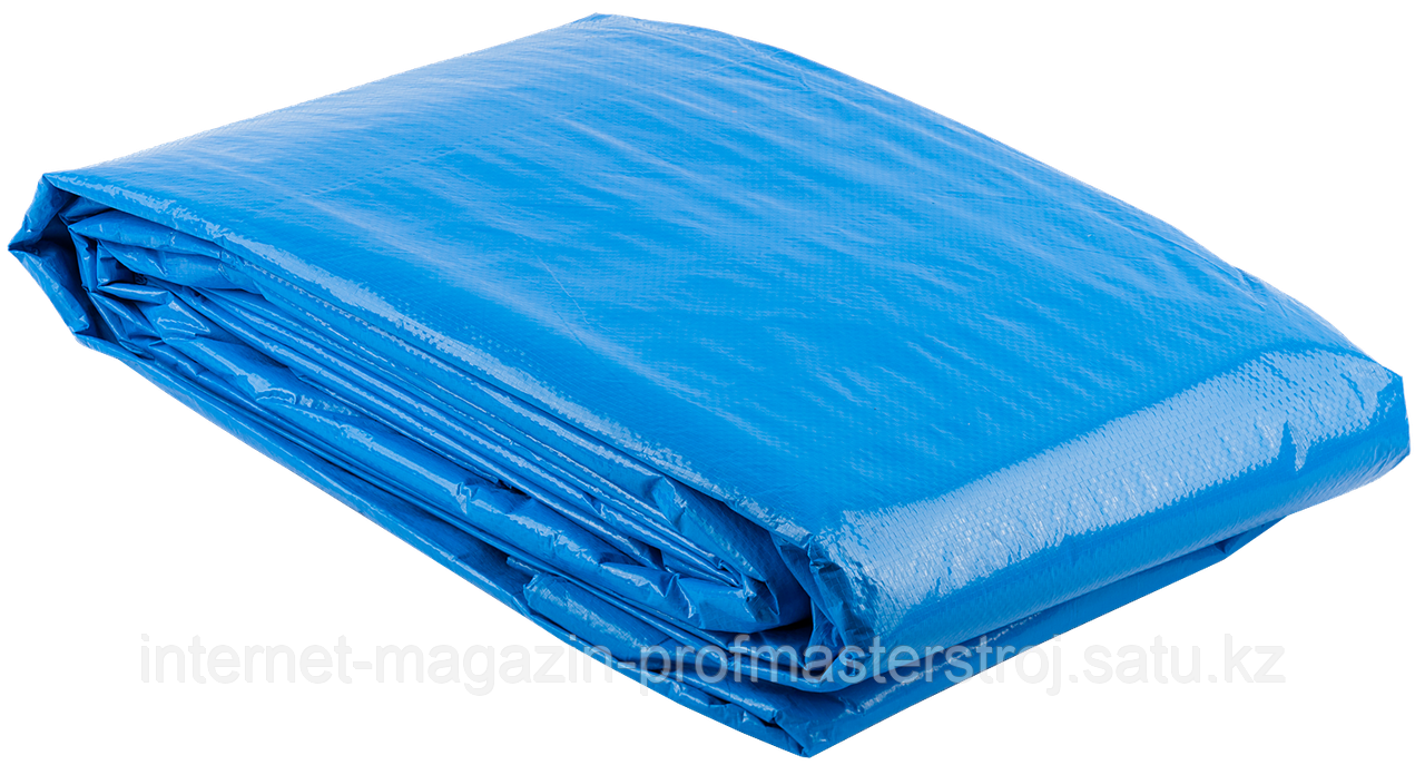 Тент-полотно универсальный повышенной плотности, 6м x 10м, серия «ЭКСПЕРТ», ЗУБР