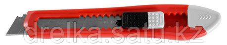 """Нож ЗУБР """"СТАНДАРТ"""" с сегментированным лезвием, корпус из AБС пластика, сдвижной фиксатор, сталь У8А, 18мм , фото 2"""