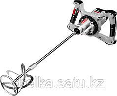 Миксер ЗУБР МР-1400-2 строительный, 2-скоростной, 1400 Вт, 13 Нм, 0-620 / 0-810 об/мин, М14 патрон