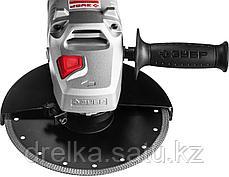 Углошлифовальная машина (болгарка), плавный пуск, 230 мм, 6000 об/мин, 2300 Вт, ЗУБР, фото 3