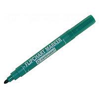 Маркер для флипчарта CENTROPEN, непропитывающий, круглый наконечник, 2,5 мм, зеленый, 8550/1З