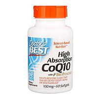 Коэнзим Q10 с BioPerine. высокая степень всасывания. 100 мг. 60 капсул