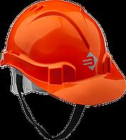Каска защитная, 52-62 см, оранжевая, серия «МАСТЕР», ЗУБР