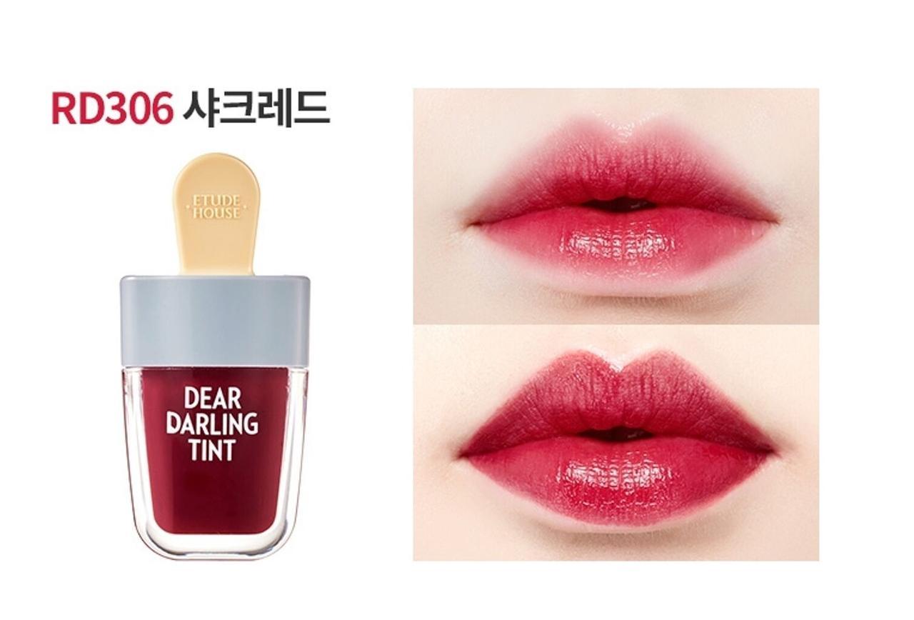 Тинт для губ Dear Darling Water Gel Tint 4.5g (Etude House) (#RD306 Shark Red)