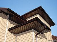 Софит Т4 коричневый виниловый Grand Line® AMERIKA